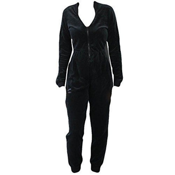 650353efddf7 PUMA 516472-01 Womens Velour T7 Jumpsuit L- Choose